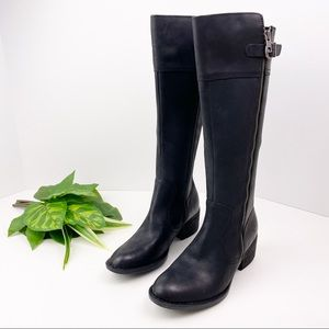 B.O.C by Born Women/'s Tycho Tall Knee High Zipper Leather Riding Boots Z50103